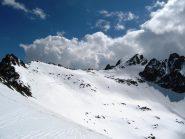 vista della TESTA DELL'UBAC dal Colle Della Lausa