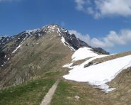 La cresta del Monte Zeda