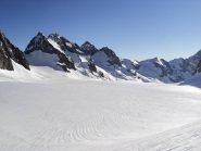 il lungo ghiacciaio