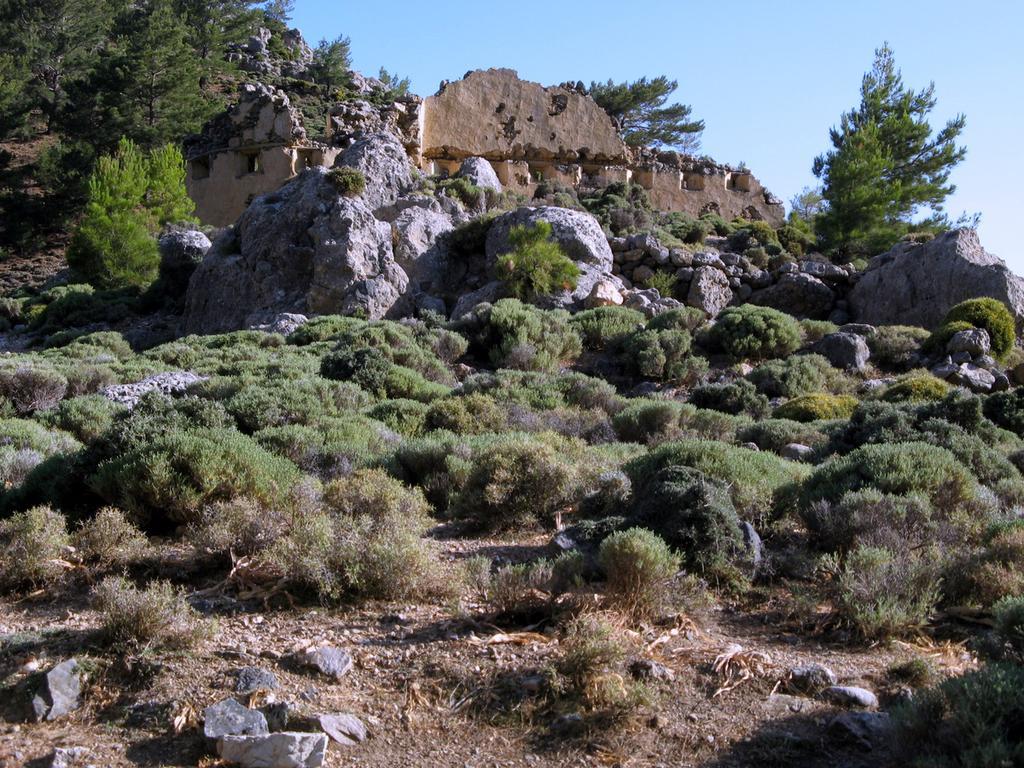 Forte turco al colle di Pikilassos.