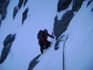 Andrea  sul secondo nevaio