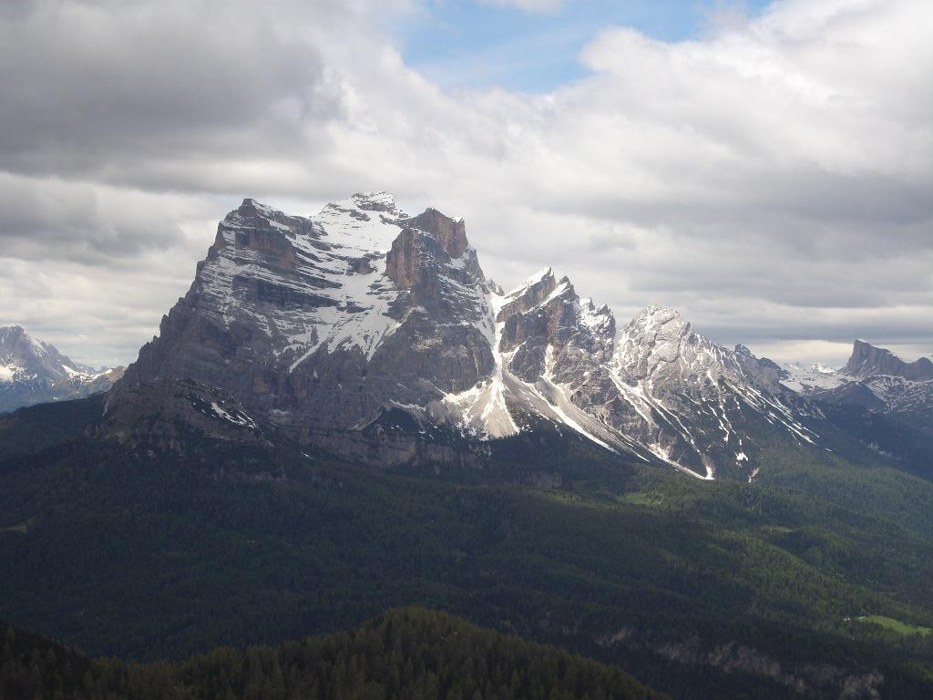 02 - dalla cima, il Pelmo