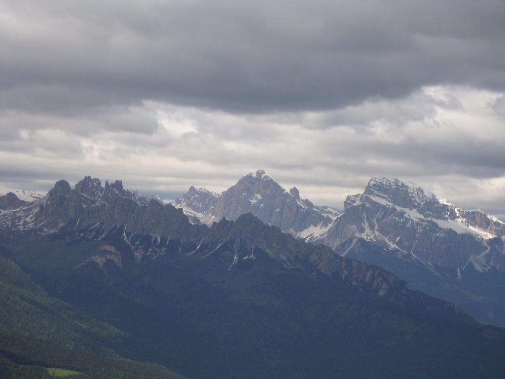 04 - dalla cima, Croda da Lago e Tofane