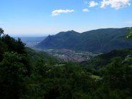Bella veduta della bassa Val di Susa