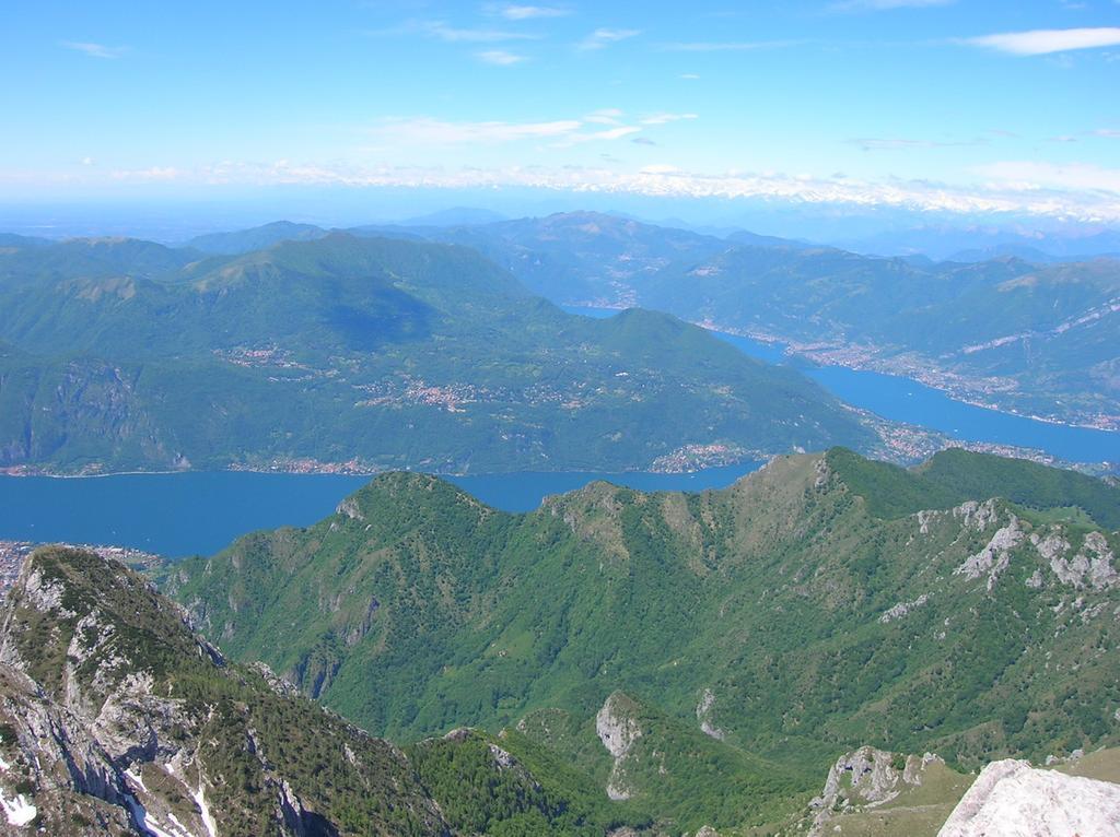 Panorama verso il lago di Como