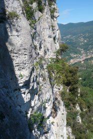 Verticalità parete