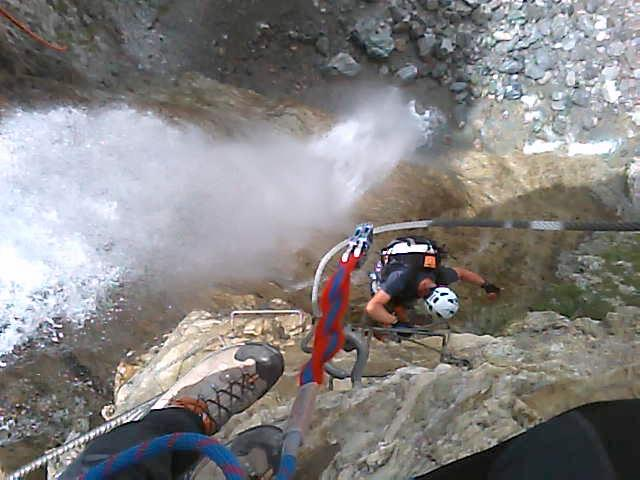 montée au purgatoire: acqua verticale
