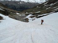 Fine della neve a 2200m