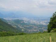 L'agglomerazione di Grenoble, scendendo verso Claix