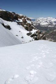 Panorama dall'uscita del canale