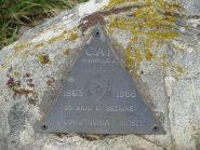 Triangolino di vetta del CAI Rivarolo all'Uja d'Ingria
