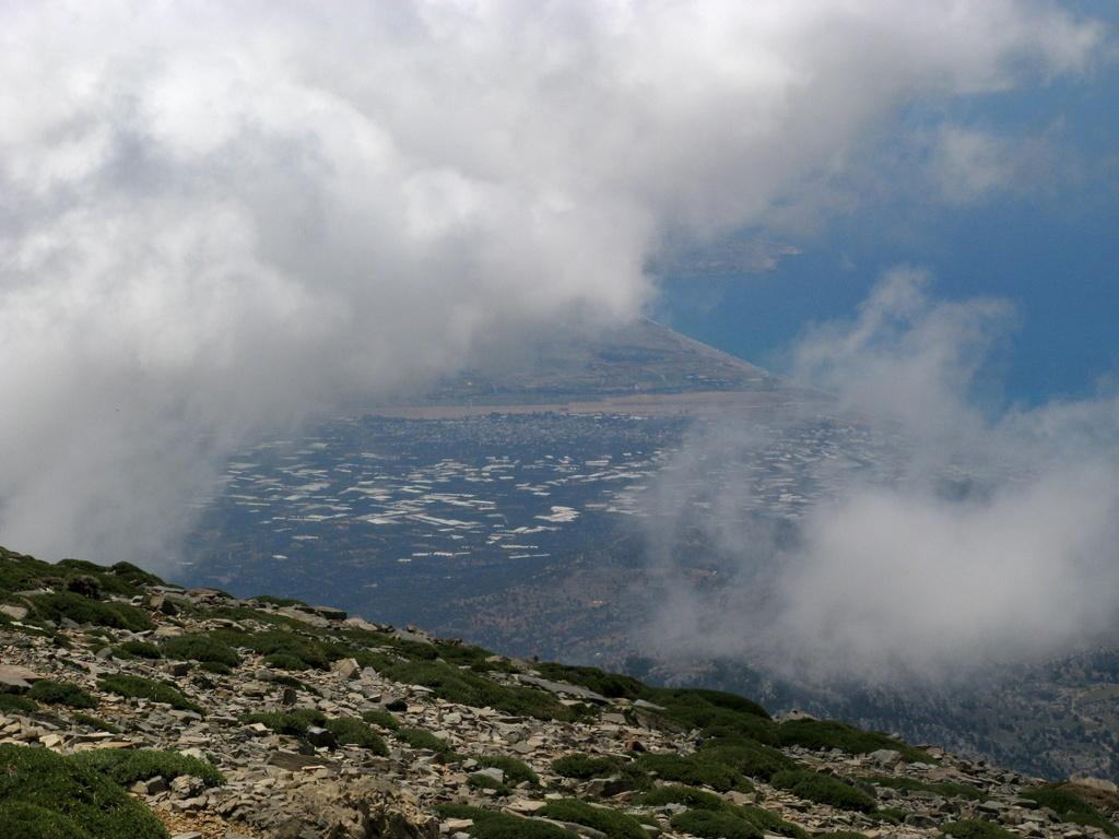 Panorama verso la piana di Messarà
