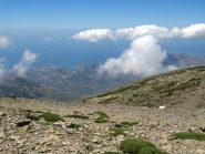Panorama verso Aghia Galini e la costa sud