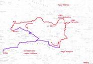 anello lago Torretta percorso