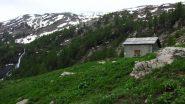 Cabane de l'Essamaure, un piccolo bivacco sempre aperto (19-6-2010)