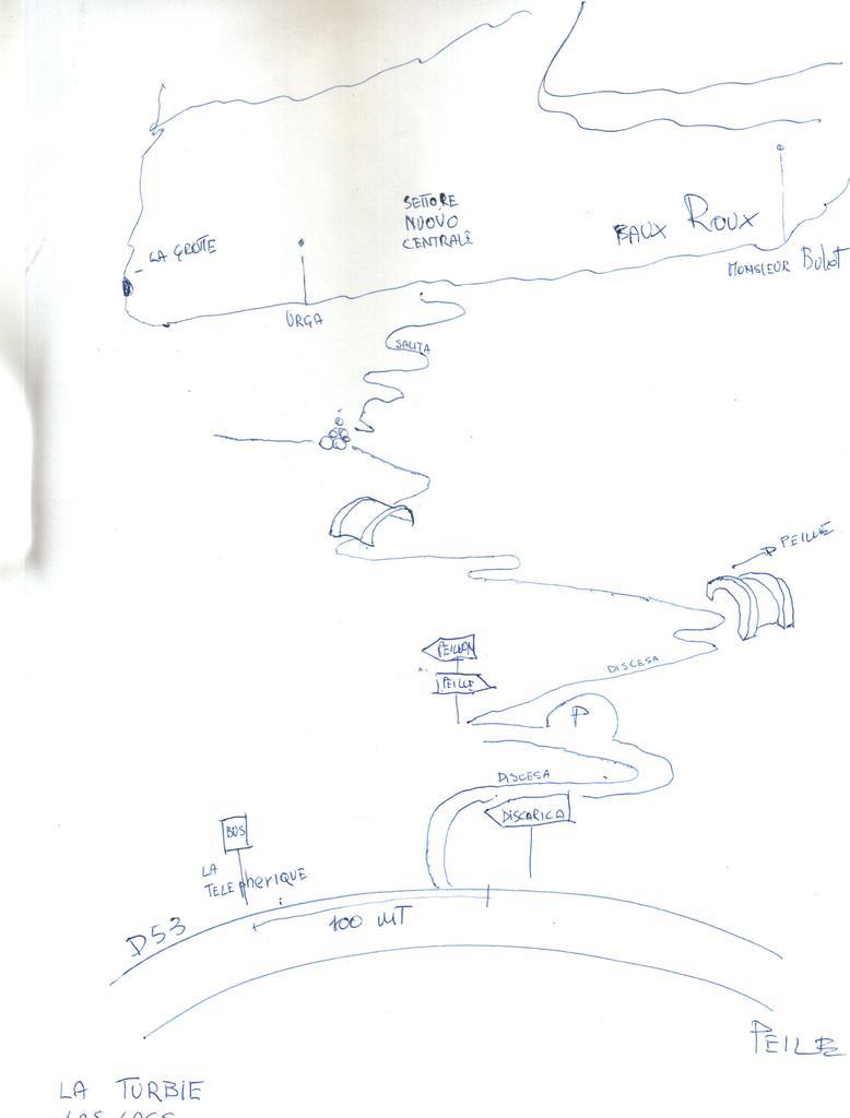 piantina avvicinamento settori