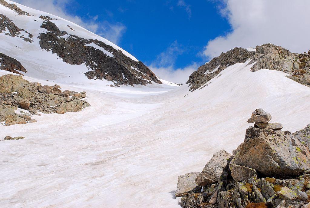 verso i 2700 m
