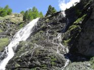 altra angolazione della cascata