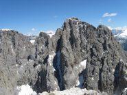 La cima del Sassolungo