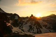 tramonto dal bivacco