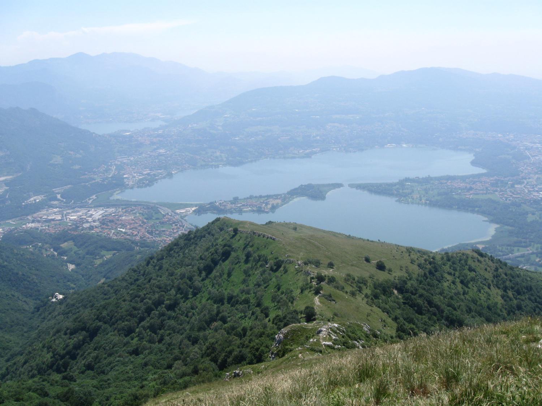 panorama dalla vetta del Cornizzolo