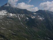 panorama sulla torre lavina dalla cima