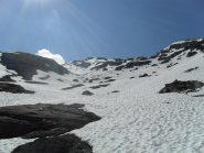 la via sul glacionevato