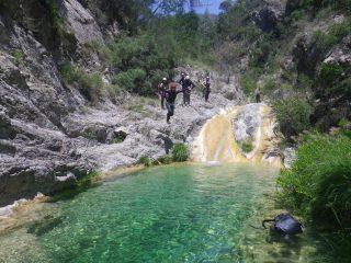 una delle tante piscine naturali