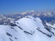 Sulla cima della Punta degli Spiriti guardando il Monte Cristallo
