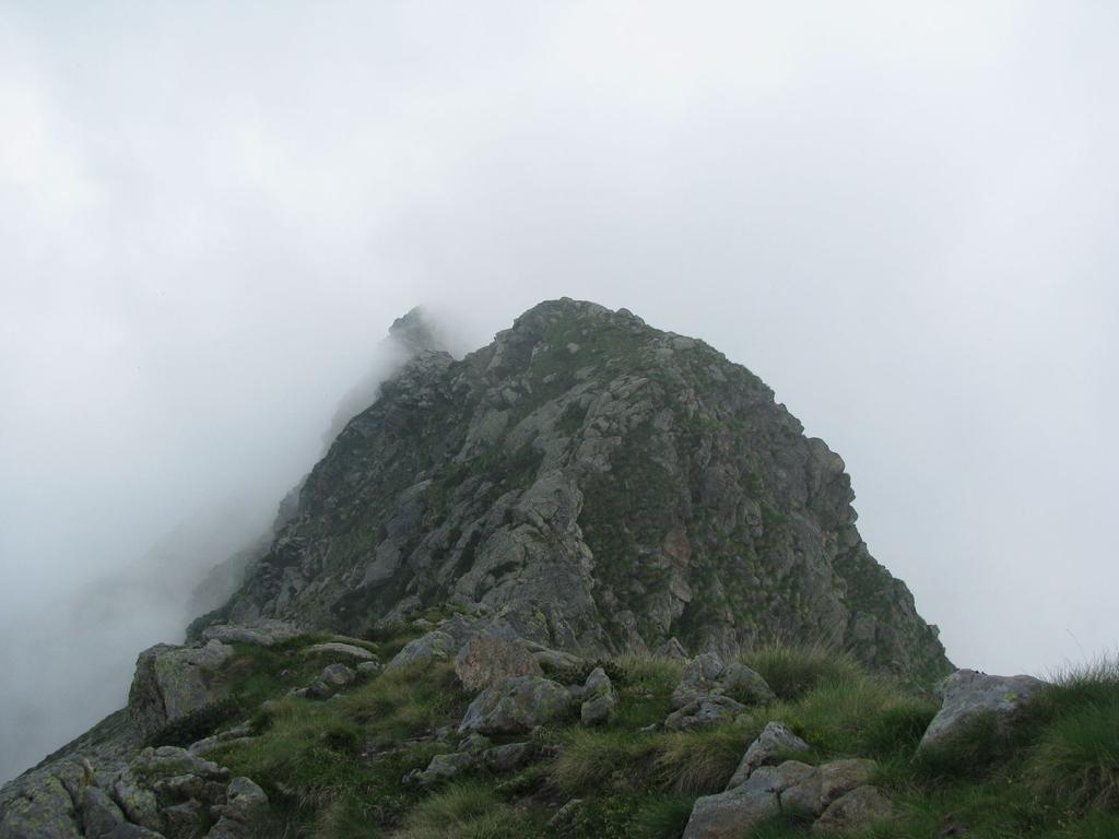 Panorama sulla cresta nord dalla punta 2344