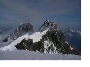 Gli altri Breithorn visti dal Gemello