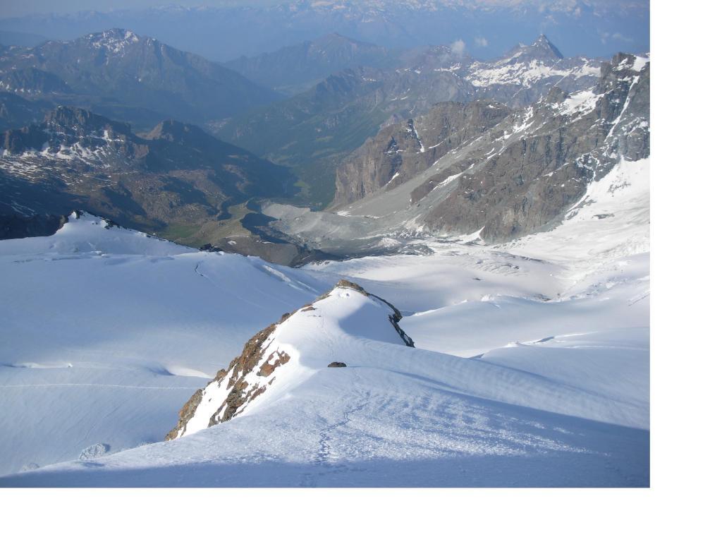 La Val d'Ayas dalle Rocce Nere