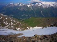 Il versante nord-ovest ..peccato non avere gli sci..