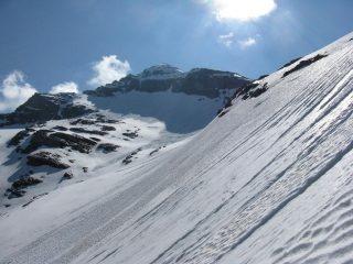Pendii per la cresta Ovest-Sud-Ovest della P. d'Arnas