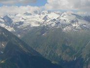 Vista dalla cima del monte Creya
