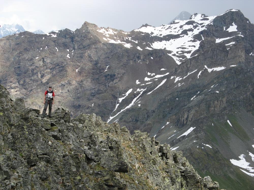Flavio sulla cresta