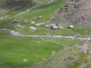 le baite dell'alpe Grauson