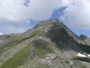 la cresta SE del bec di nana vista dal monte facciabella