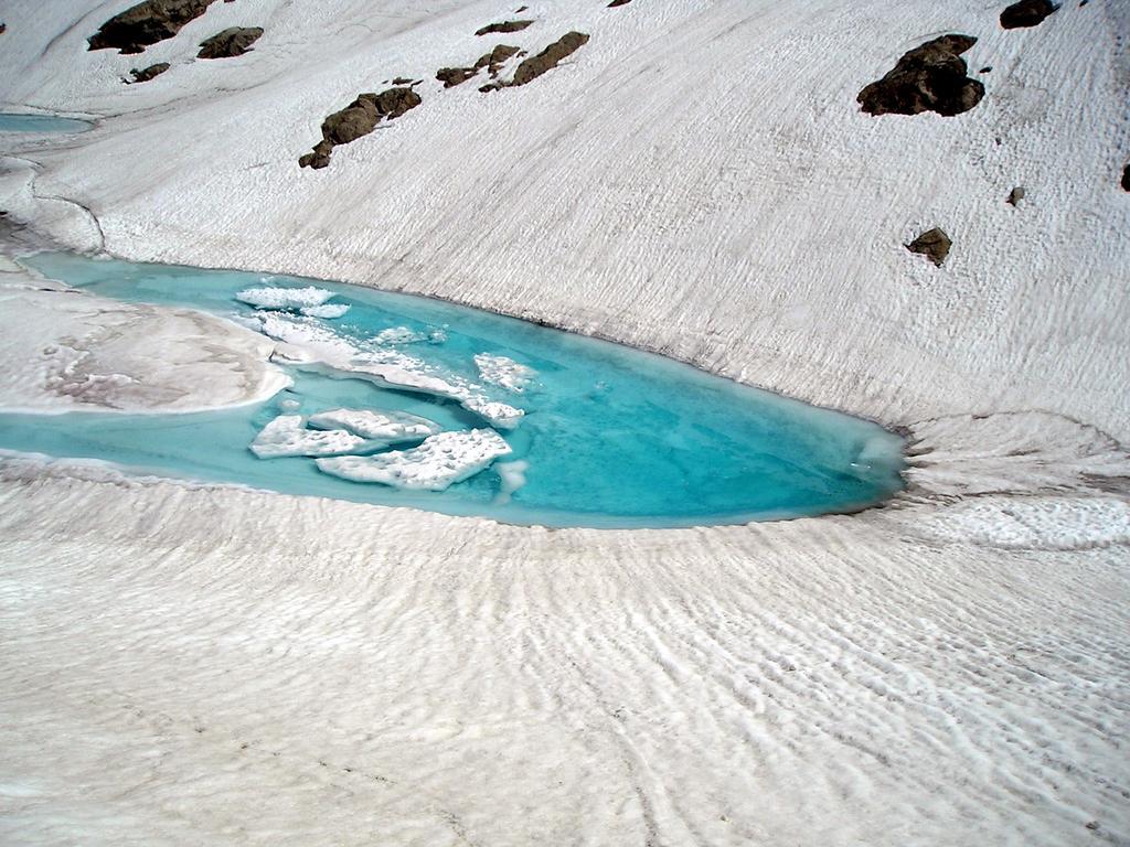 Spettacolare disgelo del Lago di Nasta
