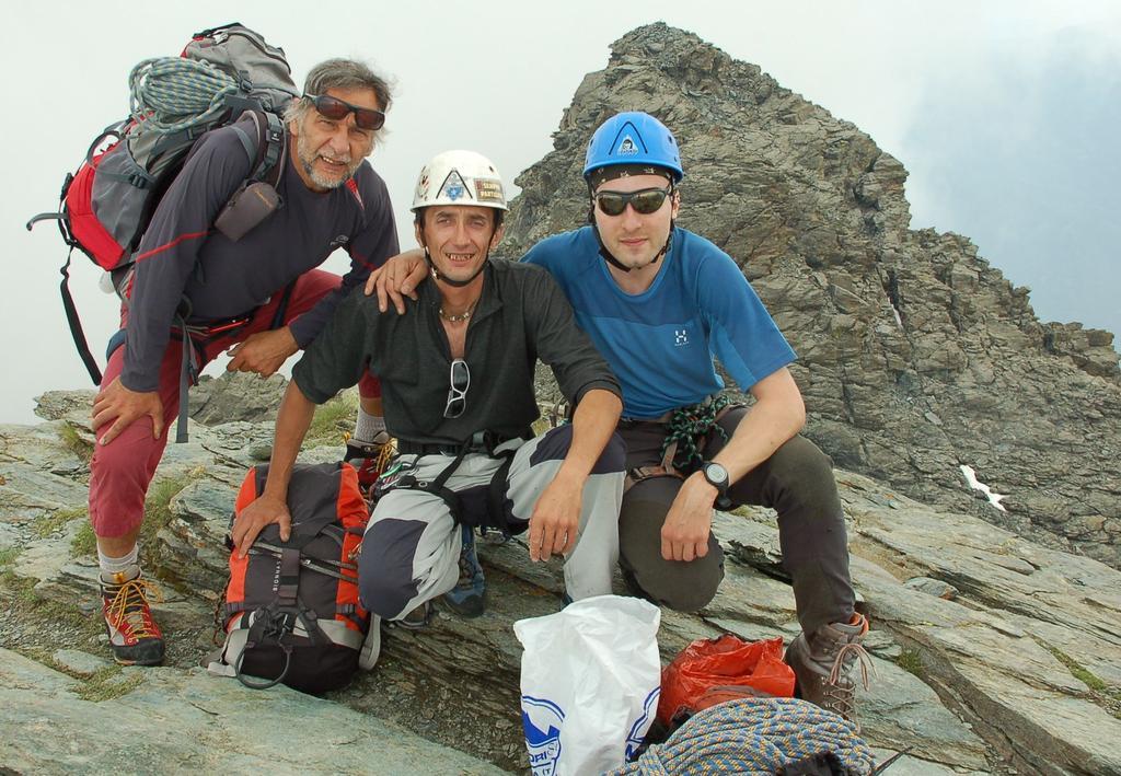 da sx:Renzo, Max ed Io