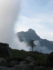 Uja di Mondrone con la nebbia