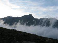 Uja di Mondrone con la nebbia al di sotto