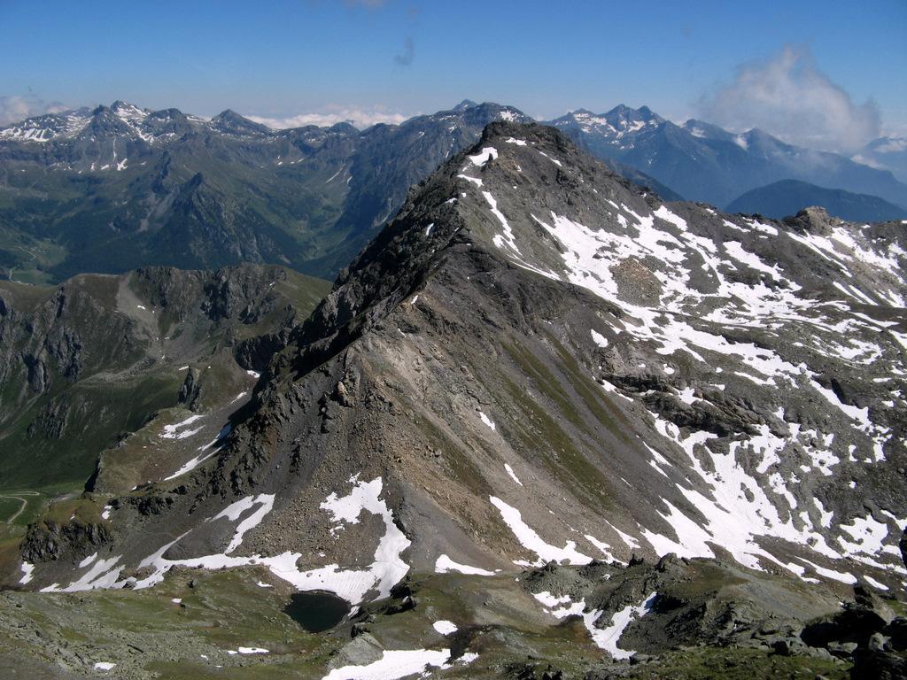 Cresta Nord della Becca di Nana