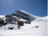 Il brunegghorn  dal Brunegggletscher