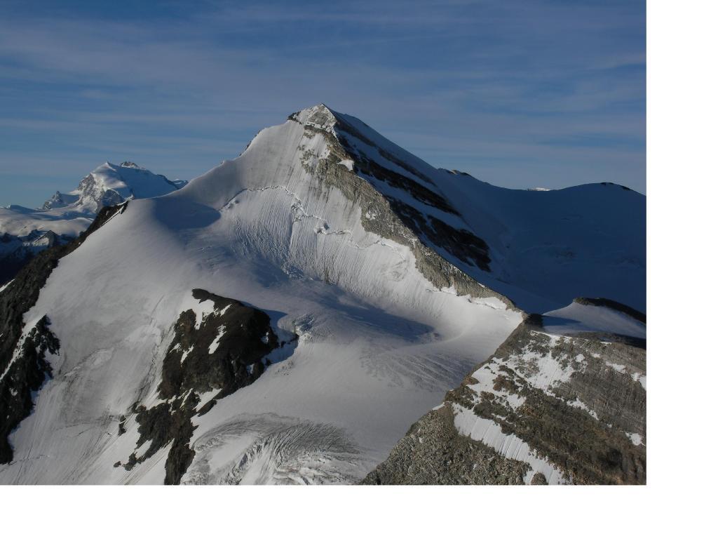Il Brunegghorn dal Barrhorn