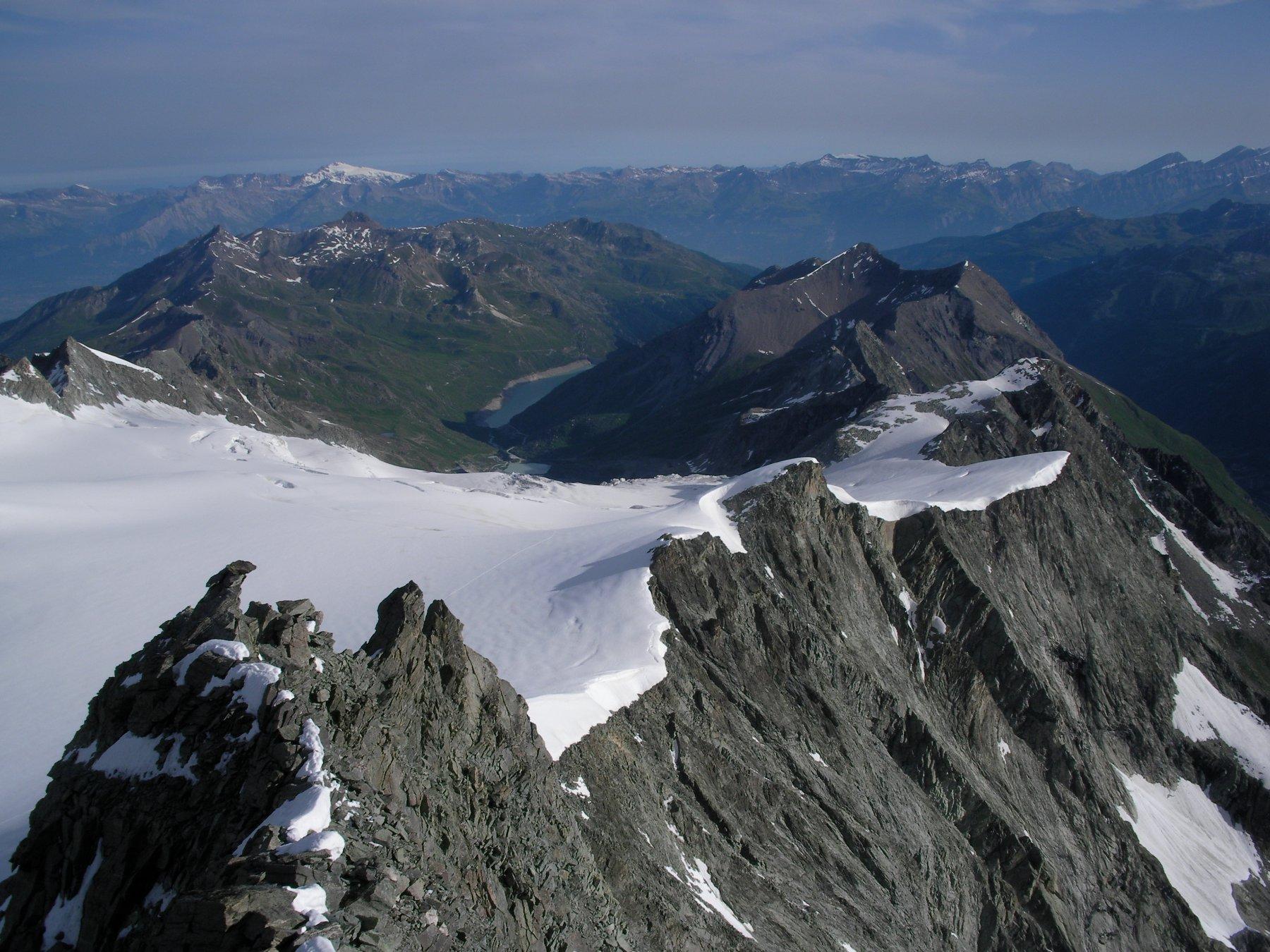 Glacier e Lac de Moiry..