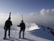 vetta Bianco e Mont Blanc de Courmayeur