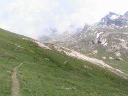 Il bellissimo sentiero che porta al Longet