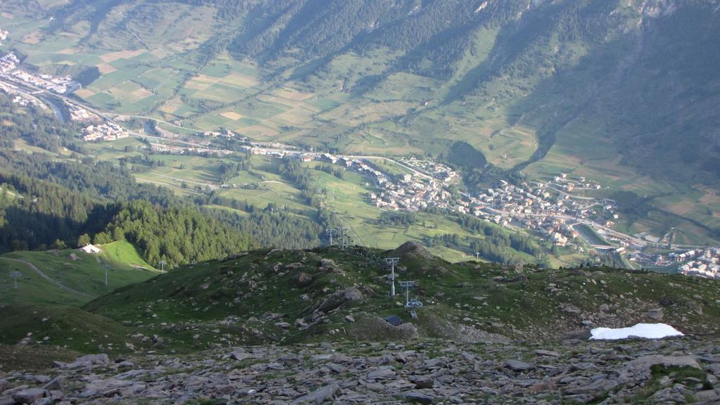 Lanslebourg e impianti di risalita de l'Arcelle (11-7-2010)
