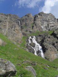 cascate lungo il sentiero